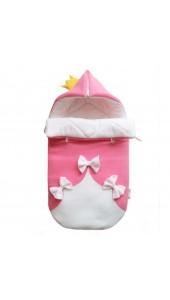 конвет для новорожденного на выписку и в коляску зайка