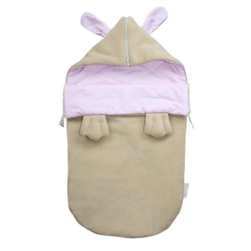 Конверт для новорожденных на выписку и в коляску для девочки Заюша лето